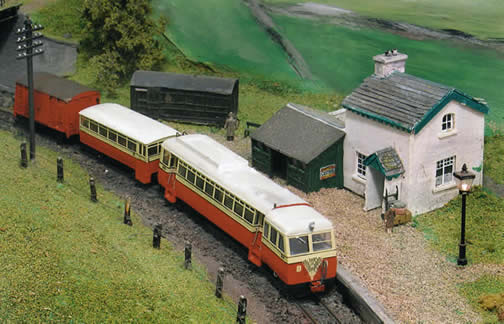 CDR Railcar 19/20 in 3mm Scale