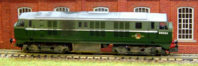 Class 29 Diesel in green livery