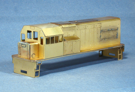 South African Class 91 Diesel built by Continental Modeller Staff