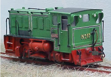 Isle of Man Viking Diesel Locomotive
