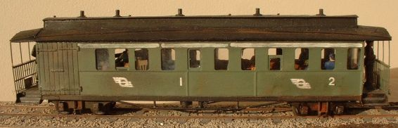 West Clare Railway  Coach 5L