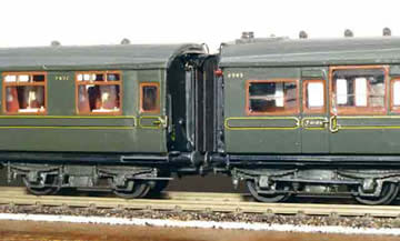 Souther Railway Maunsell Coaches